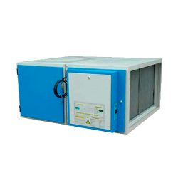 Depurador electrostático de humo Industrial CON ventilador modelo LUPV