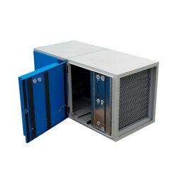 Depurador electrostático de humo Semi-Industrial CON ventilador modelo UPV
