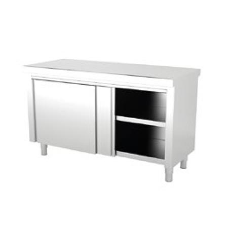 Muebles Inox Neutros Centrales con puerta ARVEN
