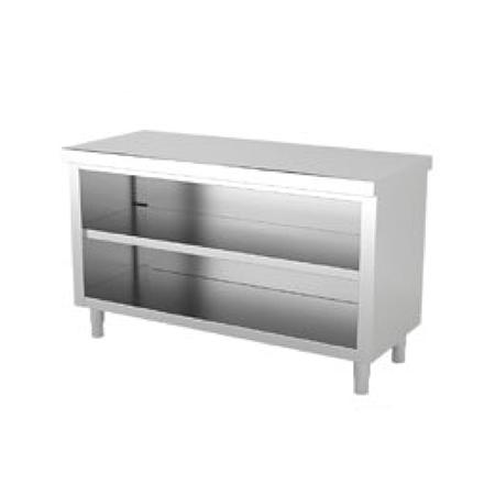 Muebles Inox Neutros Centrales sin puerta ARVEN