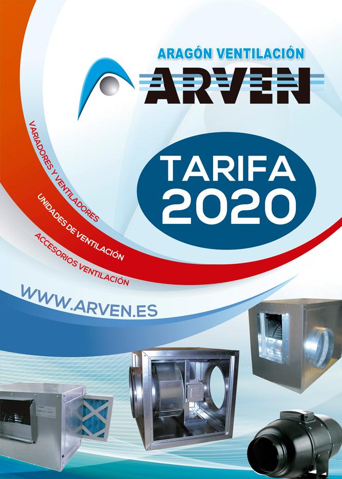 Unidades de Ventilación, Variadores y Accesorios 2020